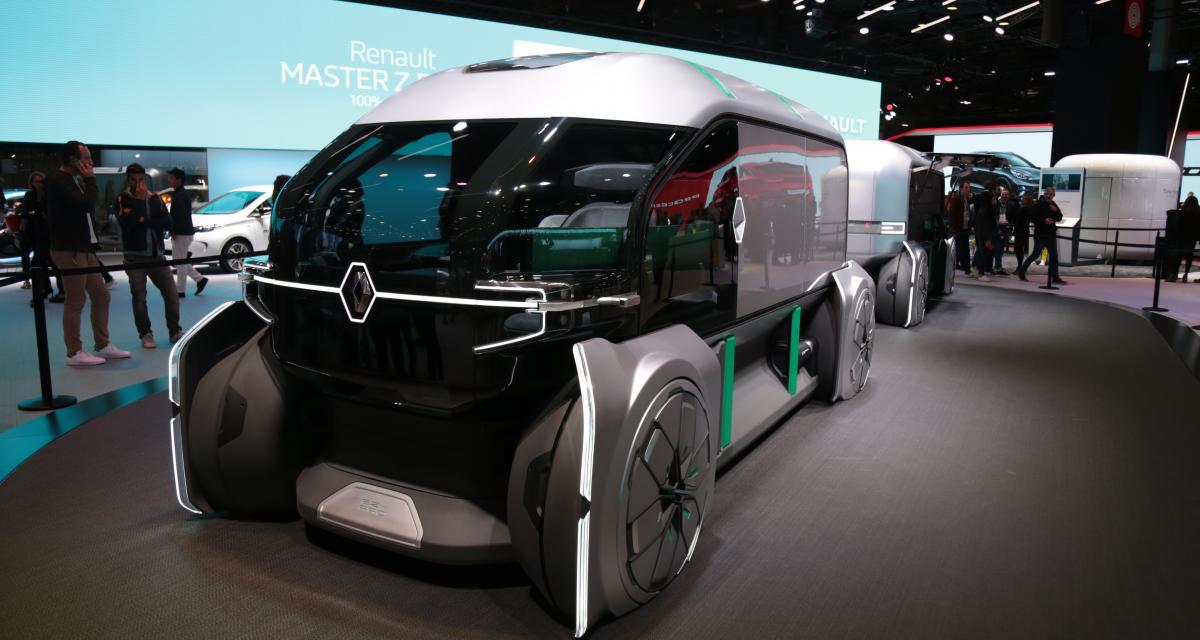 Mondial de l'Auto 2018 : nos photos du Renault EZ-PRO