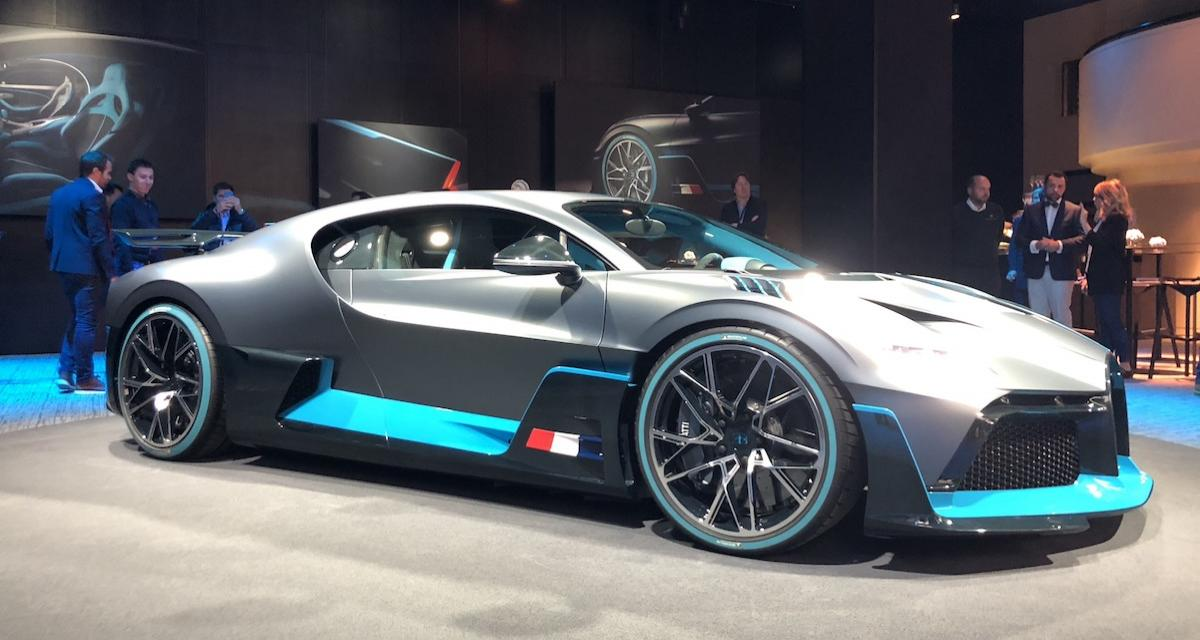mondial de l auto 2018 la bugatti divo finalement pr sente. Black Bedroom Furniture Sets. Home Design Ideas