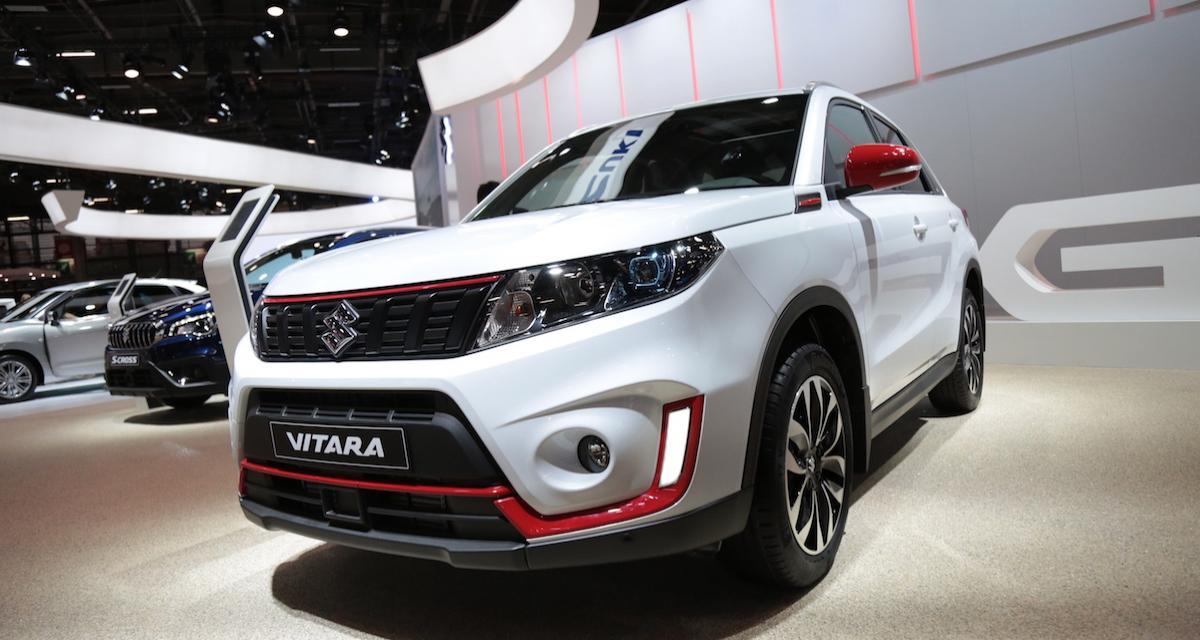 Mondial de l'Auto 2018 : nos photos du restylage du Suzuki Vitara