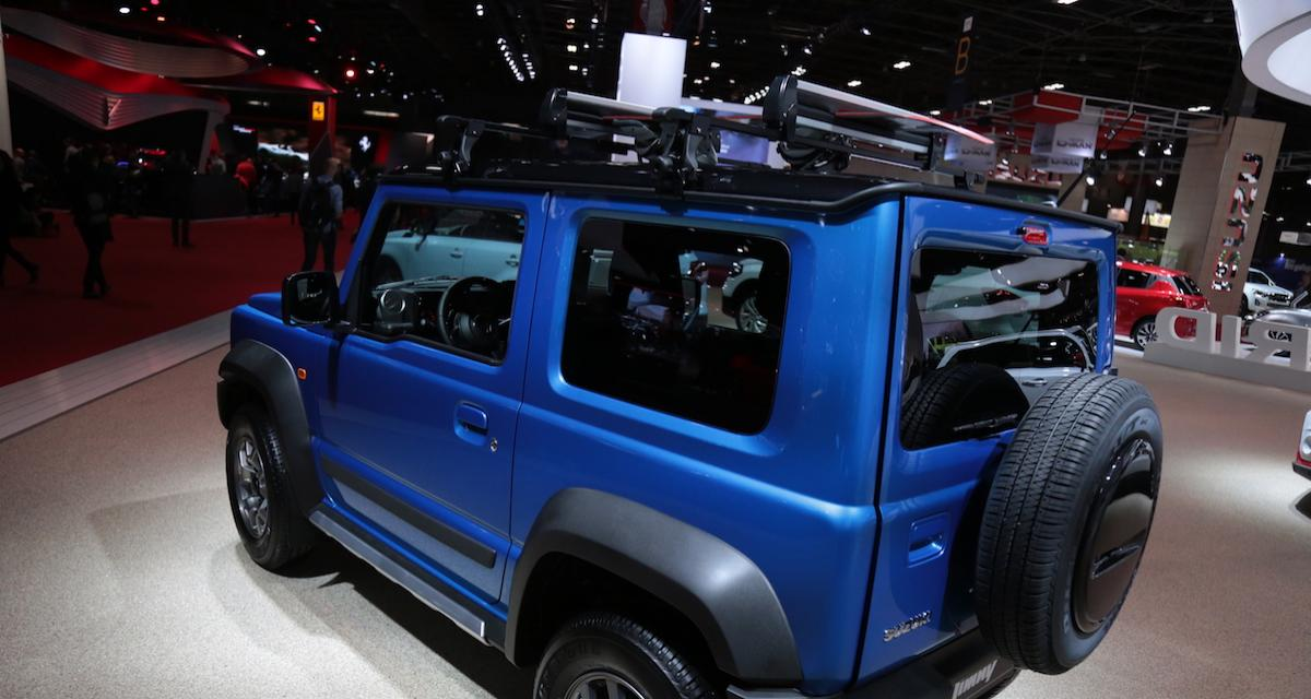 mondial de l auto 2018 suzuki jimny pr sentation et photos. Black Bedroom Furniture Sets. Home Design Ideas
