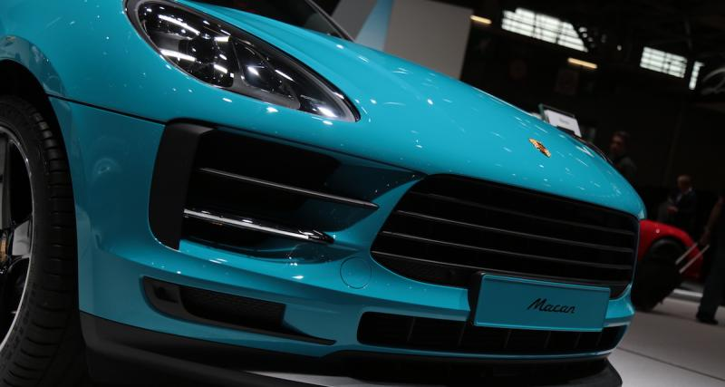 Mondial de l'Auto 2018 : nos photos du Porsche Macan restylé
