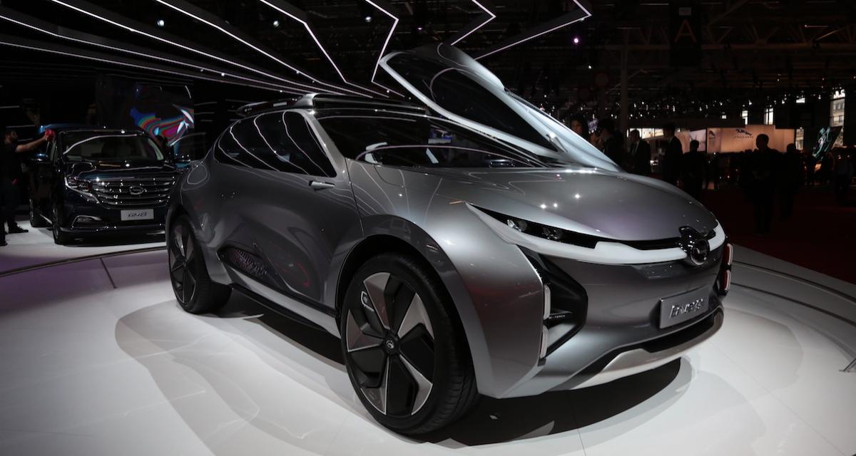 Mondial de l'Auto 2018 - GAC Enverge Concept : le SUV chinois sous haute tension