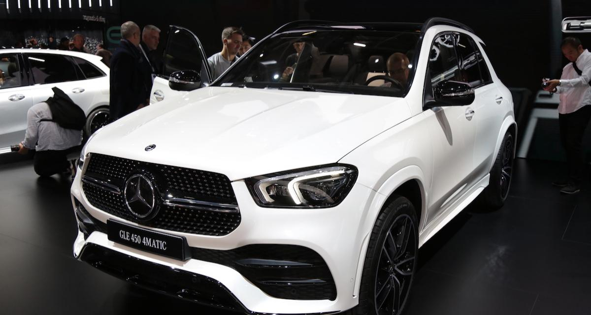 mondial de l auto 2018 mercedes gle pr sentation et photos. Black Bedroom Furniture Sets. Home Design Ideas