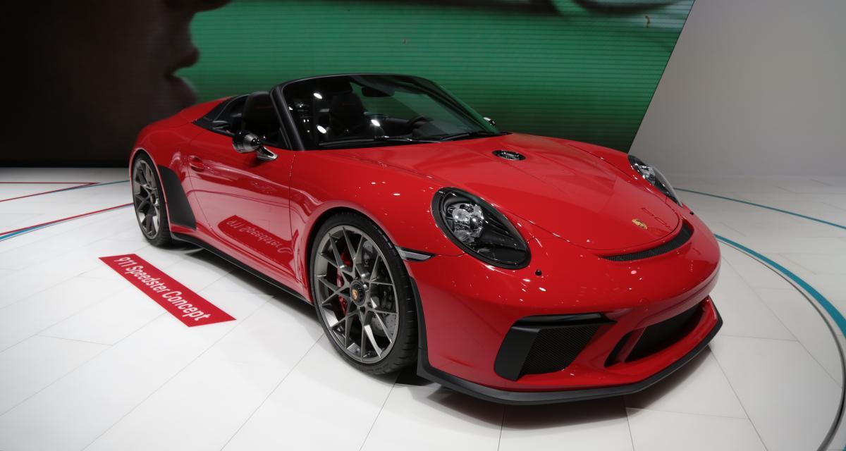 Mondial de l'Auto 2018 : nos photos du concept Porsche 911 Speedster