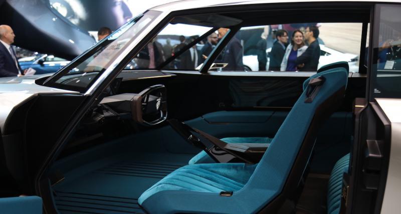 Vers une Peugeot e-Legend de série avec un coeur thermique ?