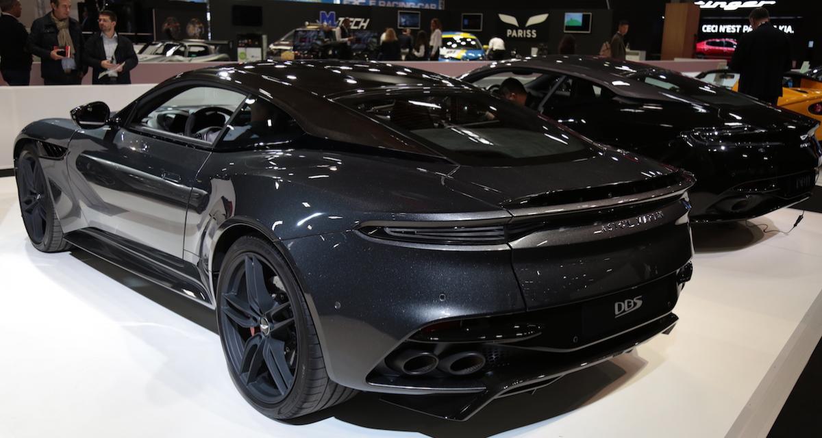 Aston Martin DBS Superleggera : le top model de Gaydon