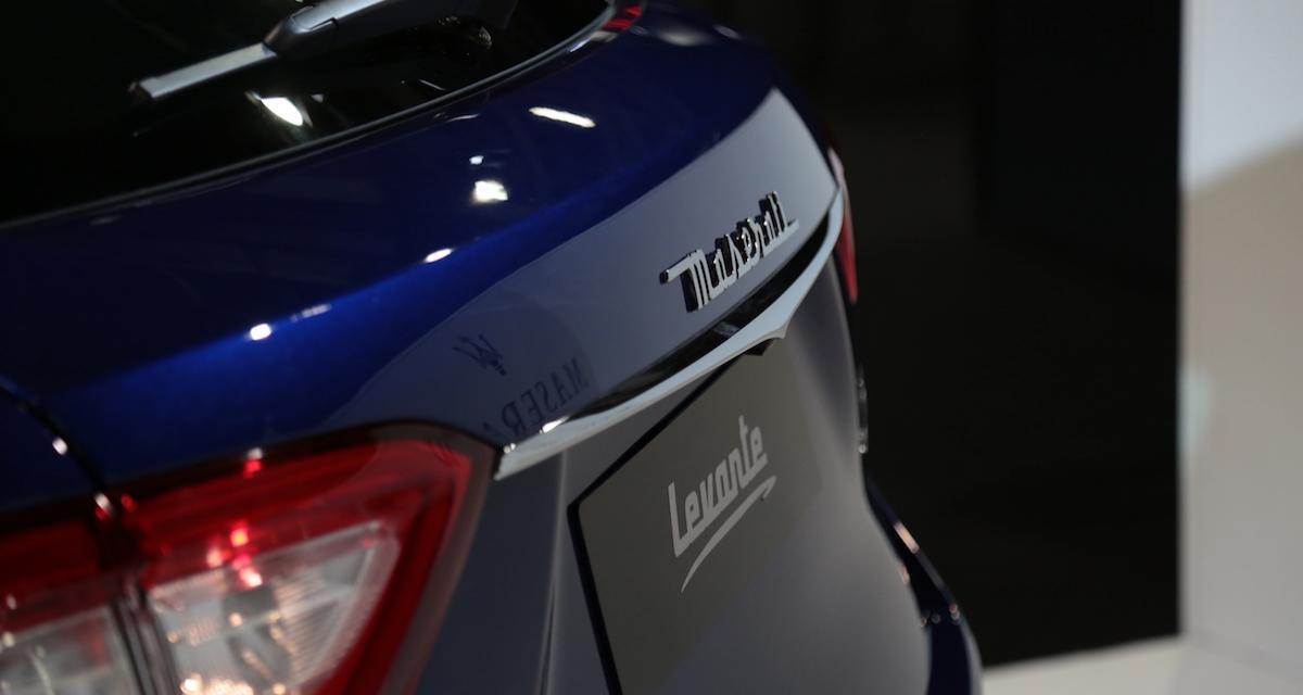 Maserati Levante Trofeo : nos photos du Mondial de l'Auto
