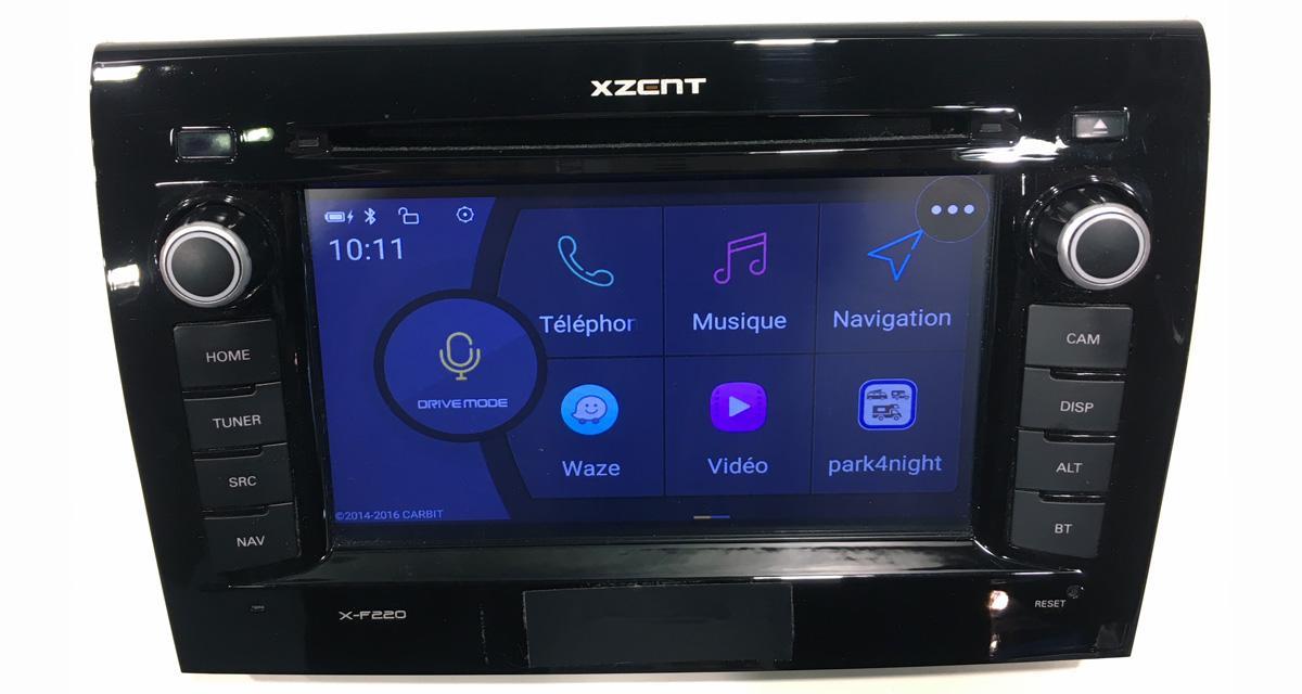 Avec la fonction SmartLink, Xzent offre vraiment le choix des applications connectées