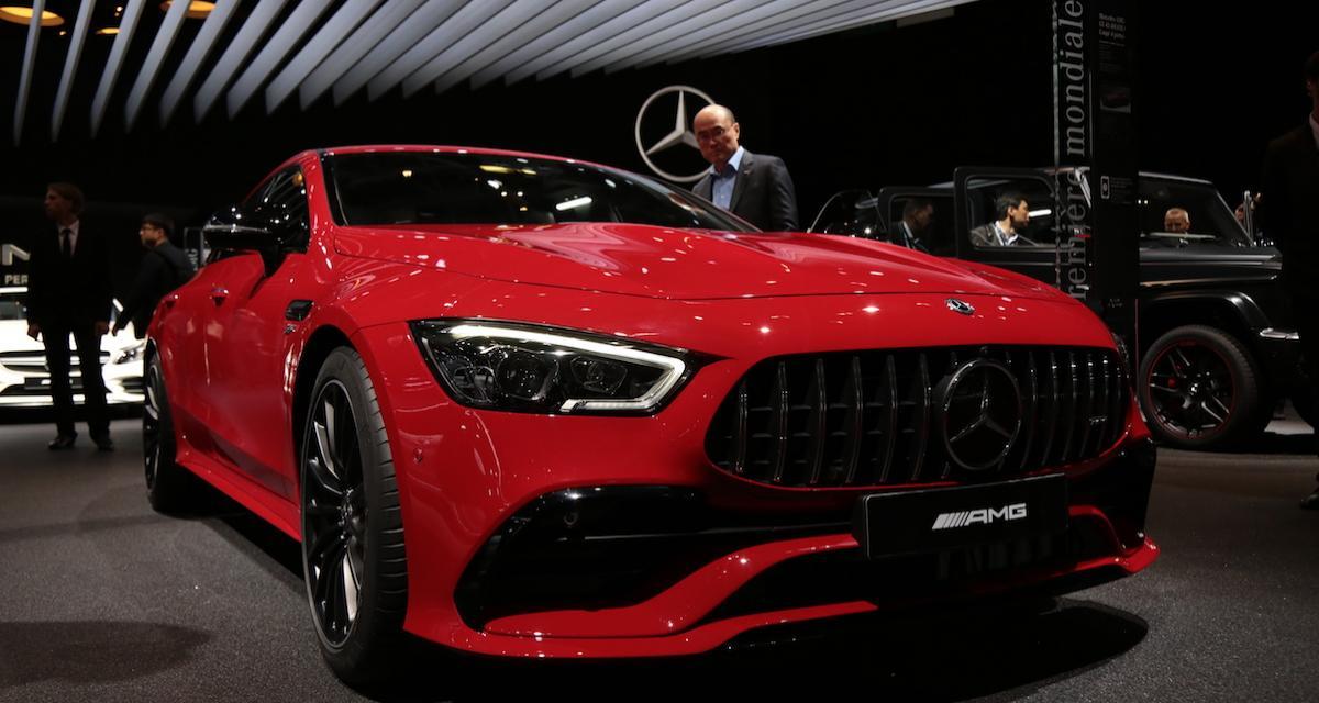 Mondial de l'Auto 2018 : nos photos de la Mercedes-AMG GT 43 4Matic+