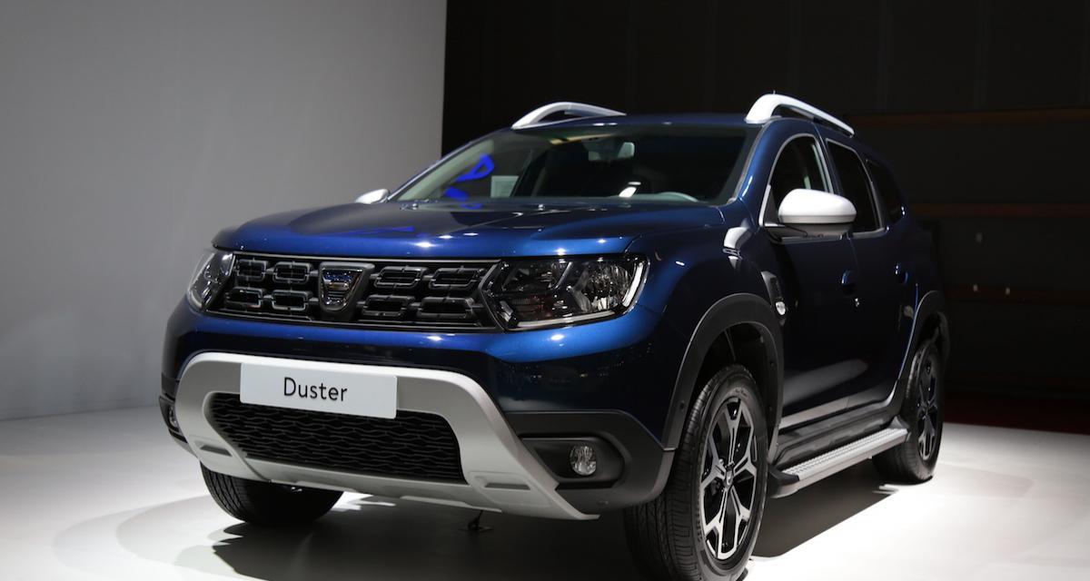 Dacia Duster : plus de chevaux pour le Mondial de l'Auto
