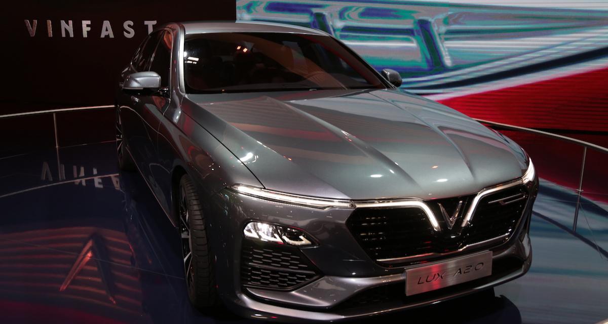 Mondial de l'Auto 2018 : nos photos de la Vinfast Lux A