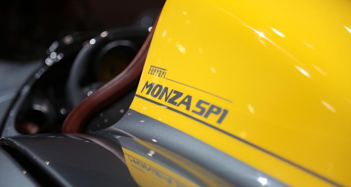 Mondial de l'Auto 2018 - Ferrari Monza SP1 et SP2: aux origines du mythe