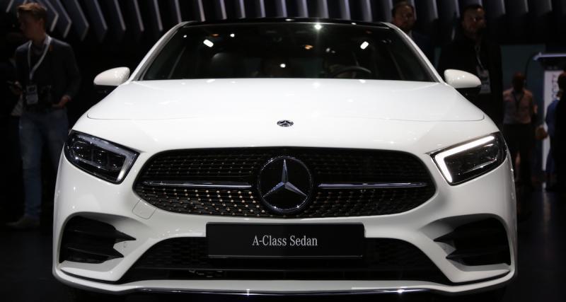 Mercedes Classe A Berline : du coffre pour la Classe A