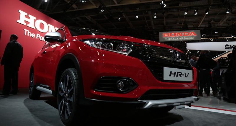 Honda HR-V : un restylage au Mondial de l'Auto 2018