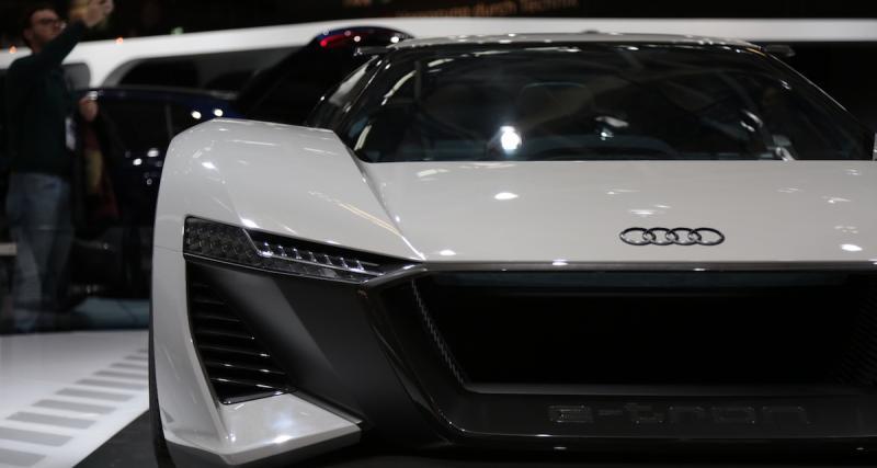 Audi PB18 e-tron : une R8 break de chasse électrique