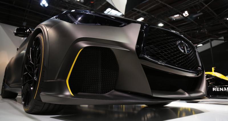 Mondial de l'Auto 2018 : nos photos de l'Infiniti Project Black S
