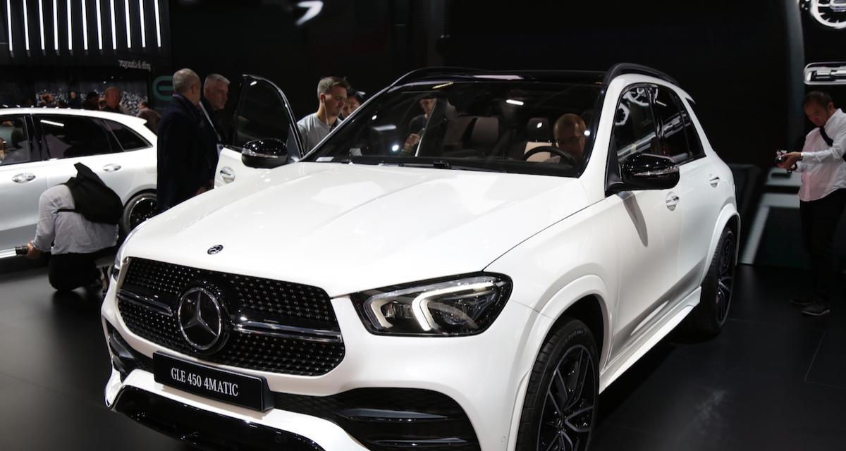 Mondial de l'Auto 2018 : nos photos de la Mercedes GLE