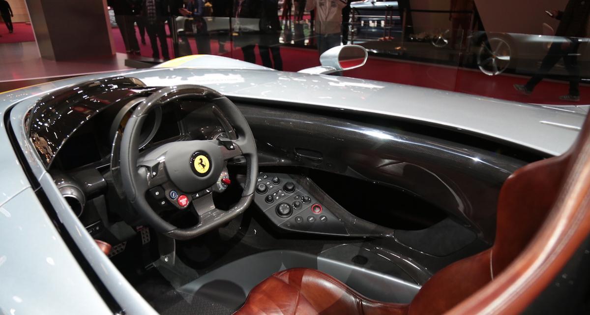 Mondial de l'Auto 2018 : nos photos de la Ferrari Monza SP1