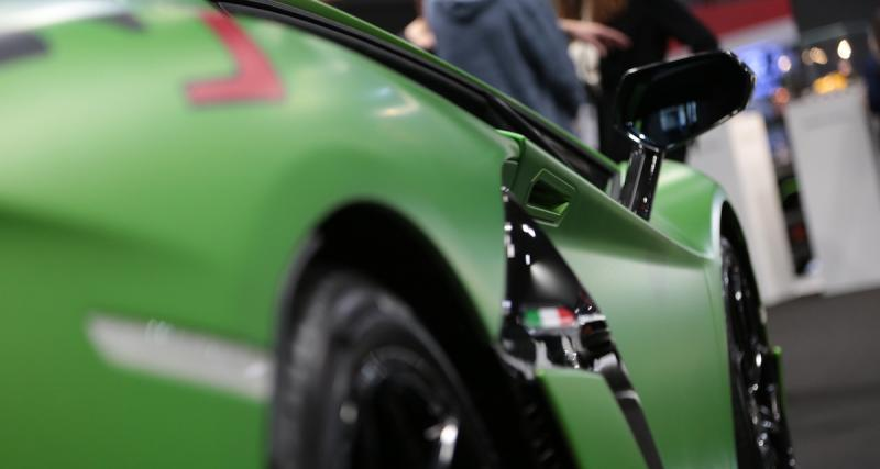 Mondial de l'Auto 2018 : nos photos de la Lamborghini Aventador SVJ