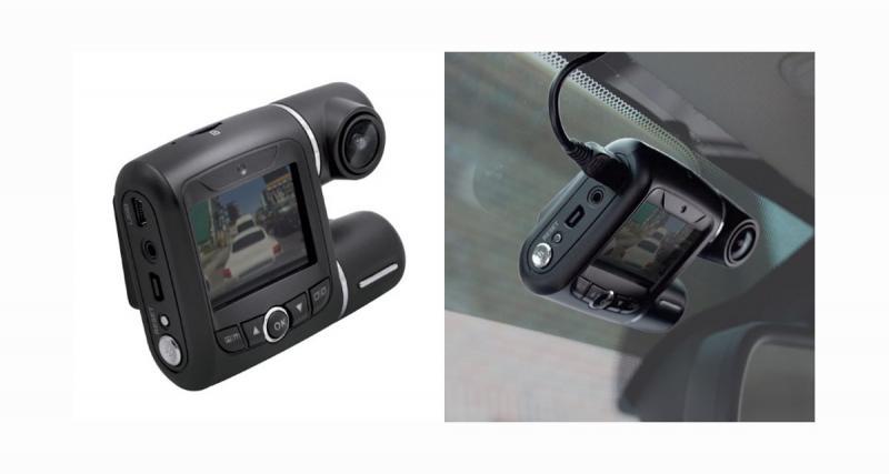 Nouvelle Dash Cam chez iBeam qui filme la route et l'habitacle du véhicule