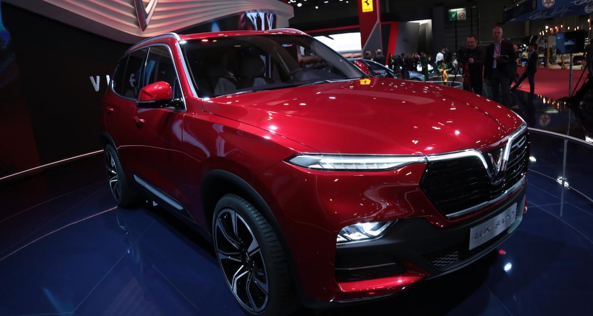 Mondial de l'Auto 2018 : nos photos de la Vinfast Lux SA