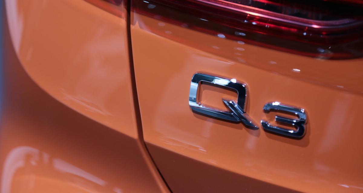 Mondial de l'Auto 2018 : nos photos de l'Audi Q3