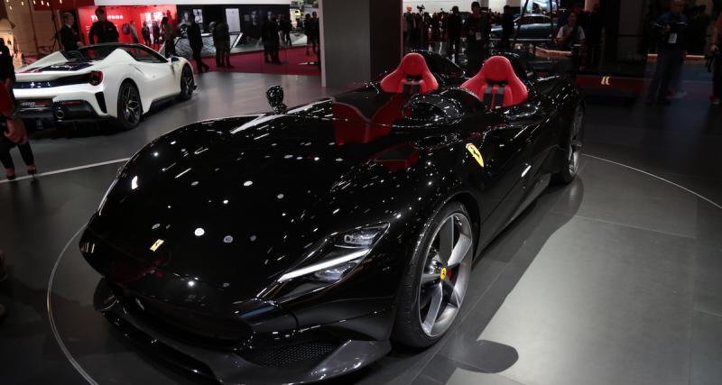 Mondial de l'Auto 2018 : nos photos de la Ferrari Monza SP2