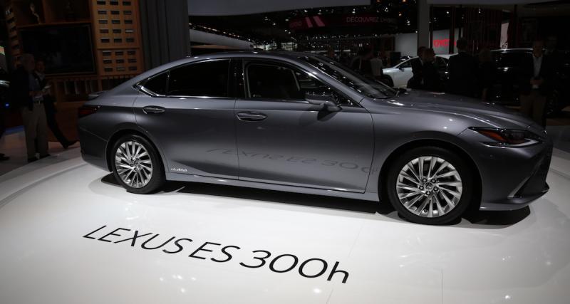 Prix du Lexus ES 300h : moins chère que la GS 300h !