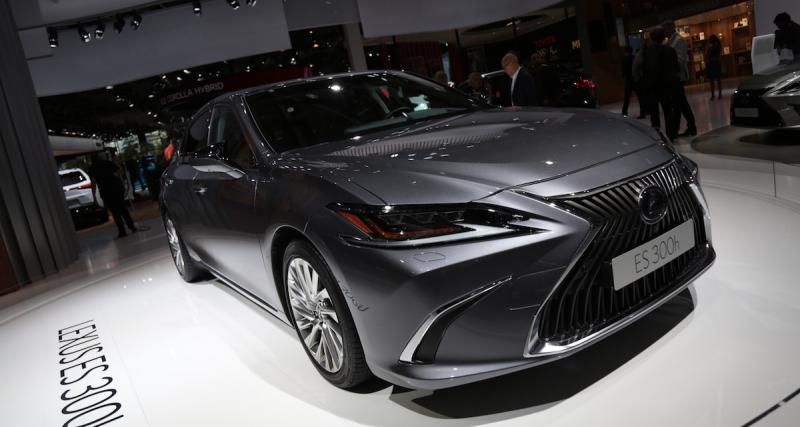 Mondial de l'Auto 2018 : nos photos de la Lexus ES