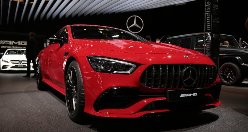 Mercedes AMG GT 43 4 portes: descente en gamme