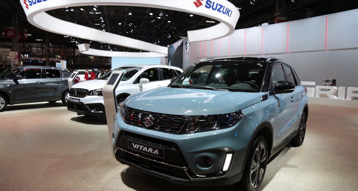 Le Suzuki Vitara restyléau Mondial de l'Auto 2018 : plus de peps, plus de cachet