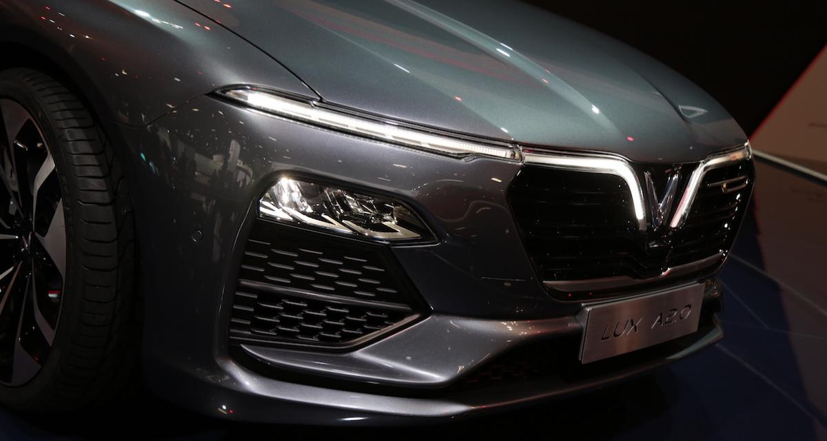 Mondial de l'Auto 2018 : la Vinfast Lux A en vidéo