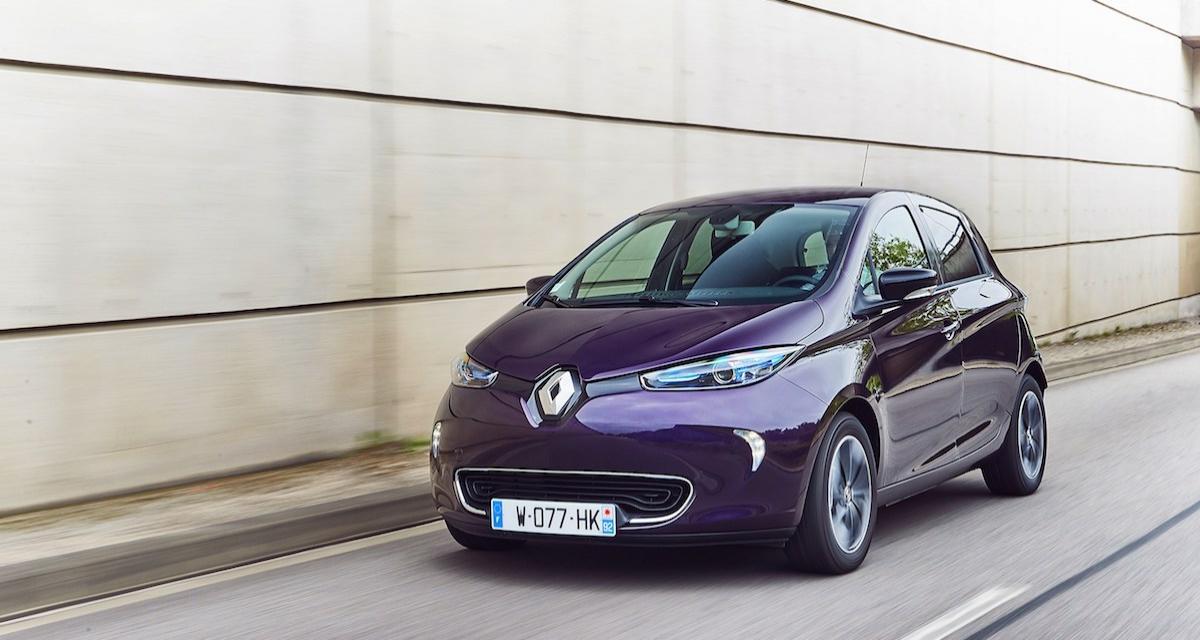 La Renault ZOE maintenant en essai à domicile