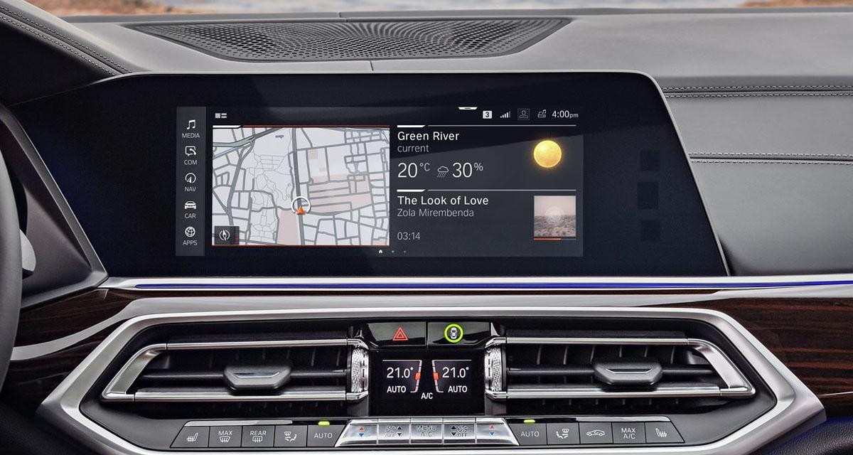 Hi-fi, multimédia, services connectés... le riche équipement du nouveau BMW X5