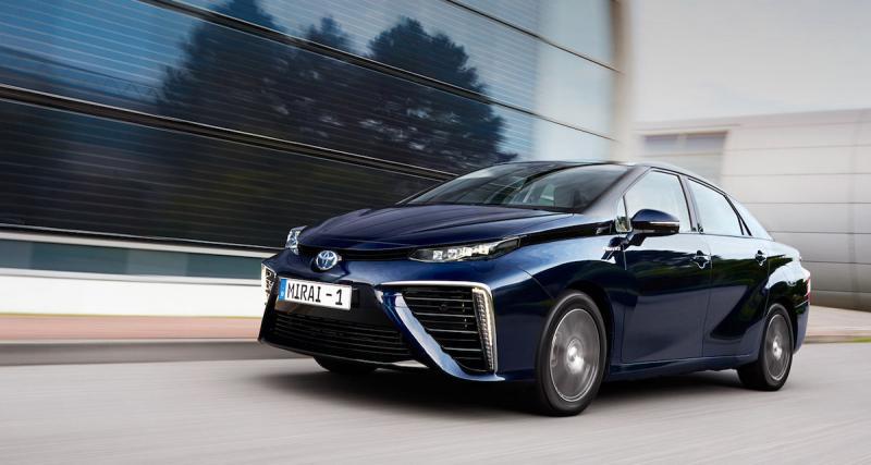 Prix de la Toyota Mirai : l'hydrogène à près de 80 000 euros