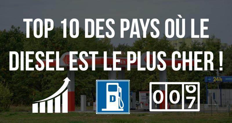Prix du gazole: les 10 pays au monde où le litre est le plus cher
