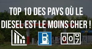 Prix du gazole : les 10 pays au monde où le litre est le moins cher
