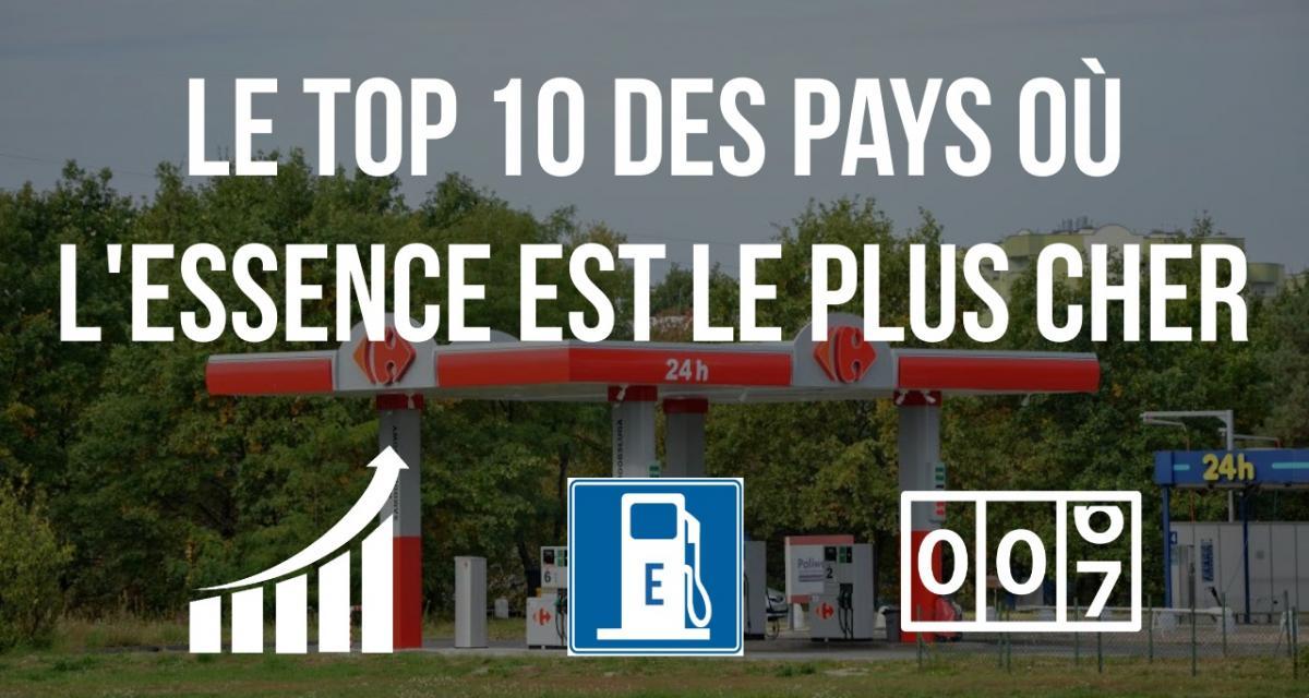 Top 10 des pays où le litre d'essence est le plus cher