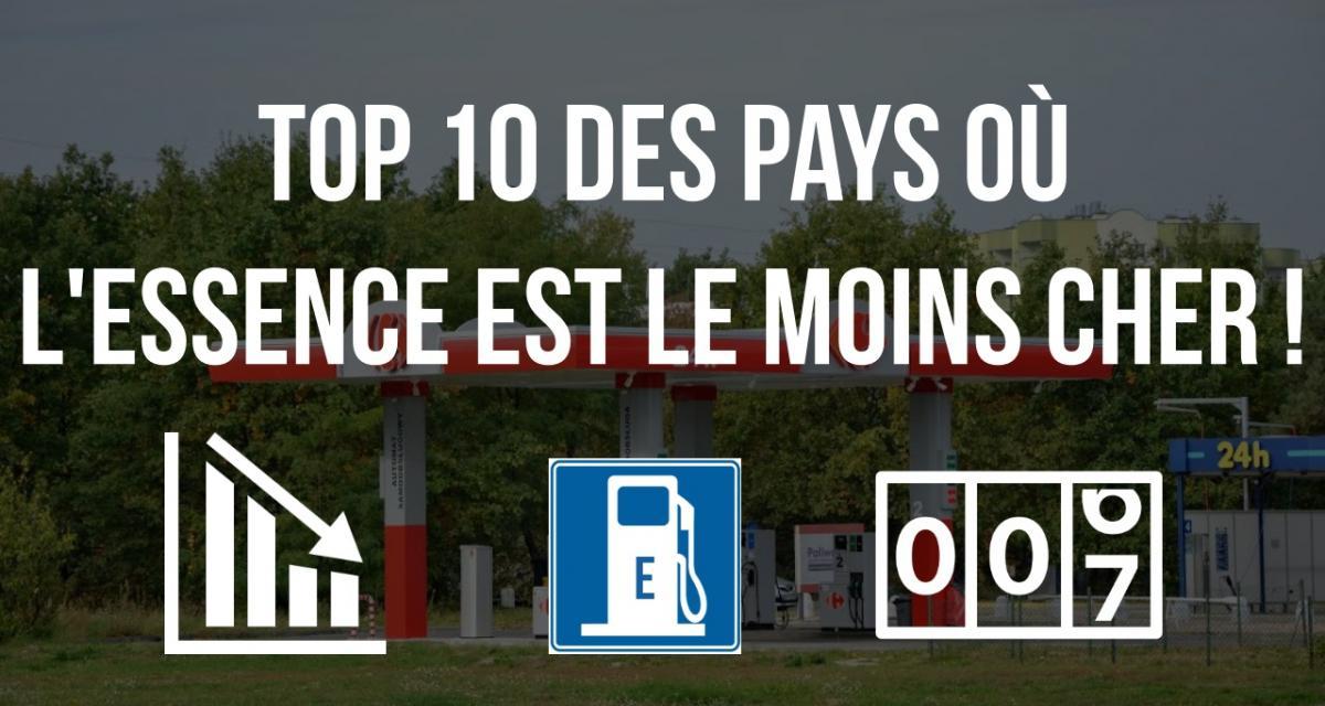 Essence : les 10 pays du monde où le litre est le moins cher