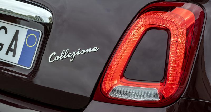 Fiat 500 Collezione : la 500 célèbre l'automne