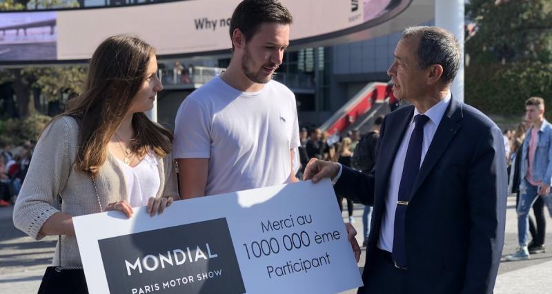 Mondial de l'Auto 2018 : 1 million de visiteurs !