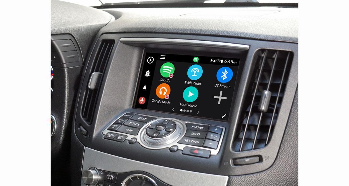 "Grom Audio commercialise un ordinateur Android ""plug and play"" pour les Infiniti"