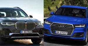 BMW X7 vs Audi Q7 : un même numéro mais des chiffres différents