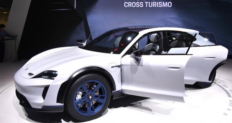 La Porsche Taycan vendue au même prix que la Tesla Model S