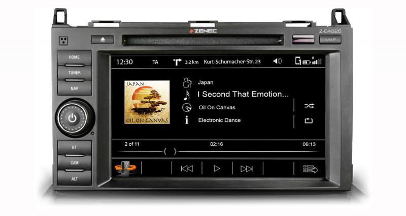 Zenec commercialise un nouvel autoradio GPS et multimédia pour Mercedes Vito