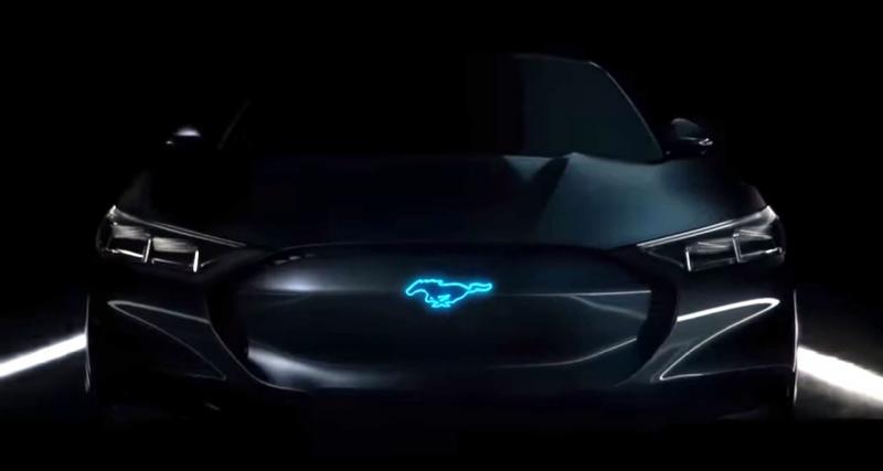 La Ford Mustang électrifiée se montre pour la 1ère fois