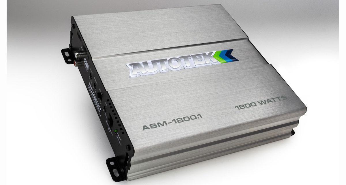 Nouveaux amplis Street Machine chez Autotek pour un rapport puissance / prix attractif