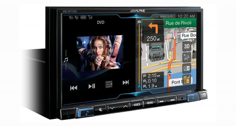 Nouvel autoradio chez Alpine avec GPS, CarPlay et Android Auto pour gros véhicules