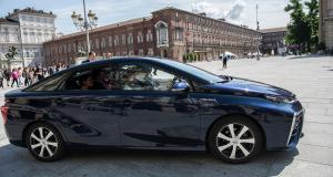 Toyota Mirai : au départ du eRallye Monte-Carlo