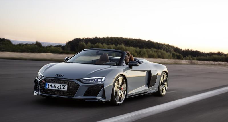 Audi R8 2019 : plus de chevaux pour toute la gamme